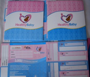 Healthy Baby Cards