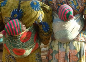 Mothers in Burkina Faso