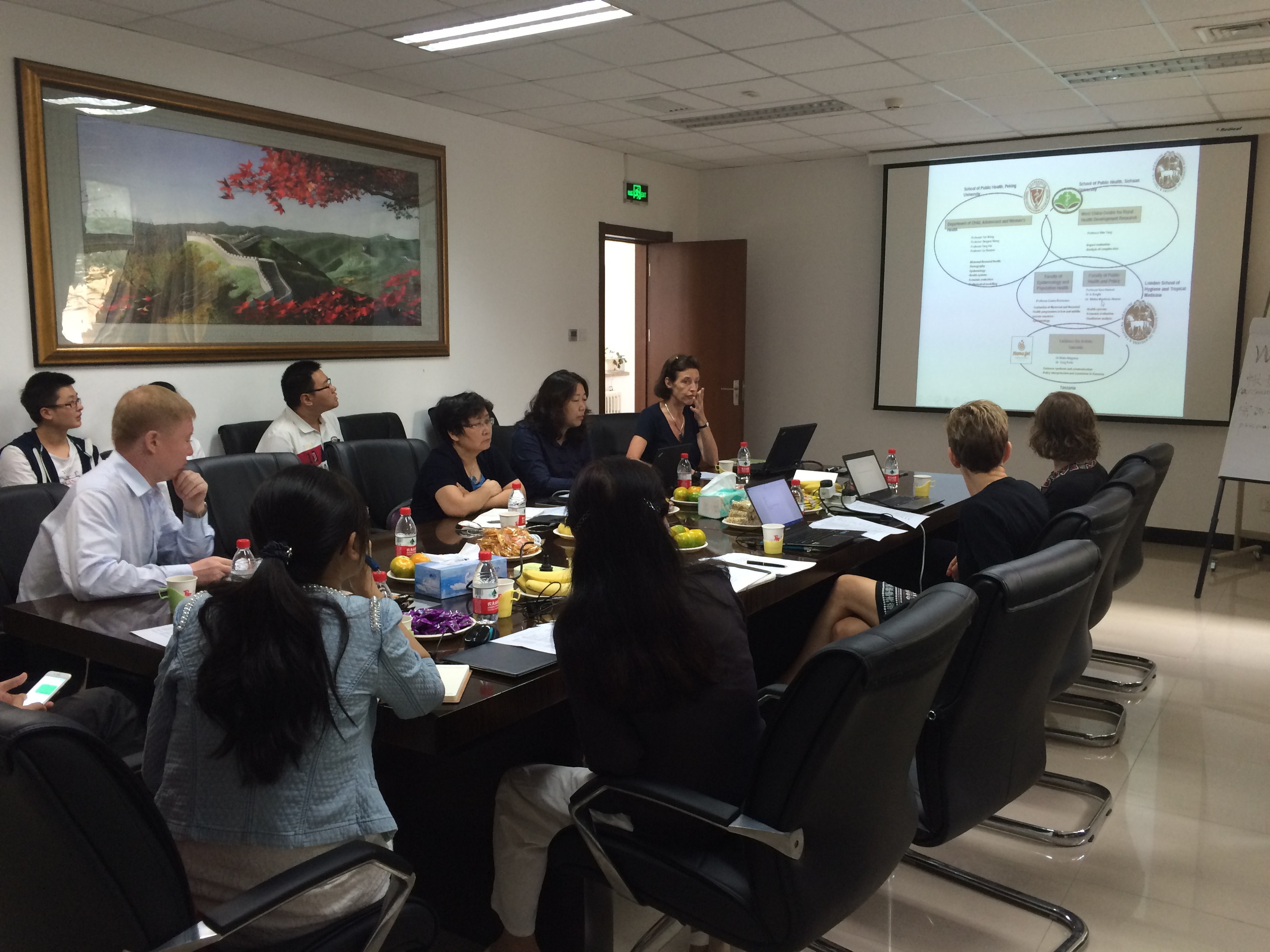 Project meeting, Sept 2015